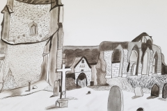 Travels of Sketches: Covehithe (Church)