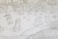 Travels of Sketches: Abbey Gardens (Ruins)