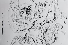 Sketch '16 (After Glenn Brown)