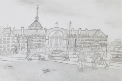 Travels of Sketches: Hotel des Invalides