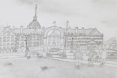 Travels of Sketches: Hotel des Invalides